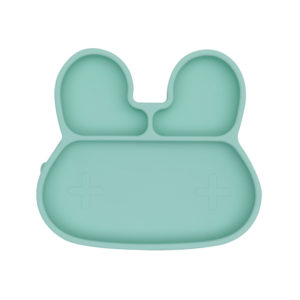 Assiette en silicone Lapin We Might Be Tiny
