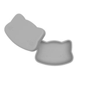 boîte à gouter en silicone chat gris we might be tiny