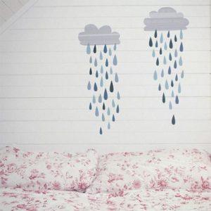 sticker-mural-chambre-nuage-pluie-lovemae
