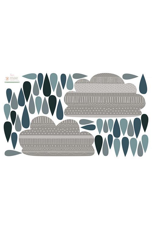 Sticker mural Nuages de pluie