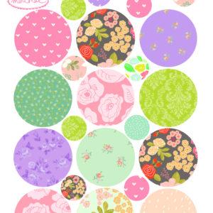 Mini sticker Les Jolis Pois Love Mae