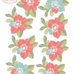 Mini sticker Fleurs