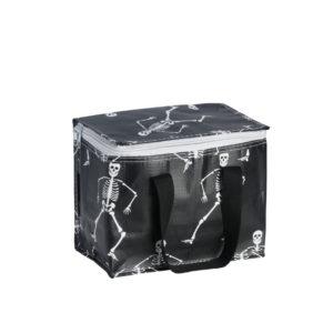 Sac isotherme noir avec squelettes Kollab