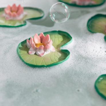 Jouet de bain Water Lily le nénuphar