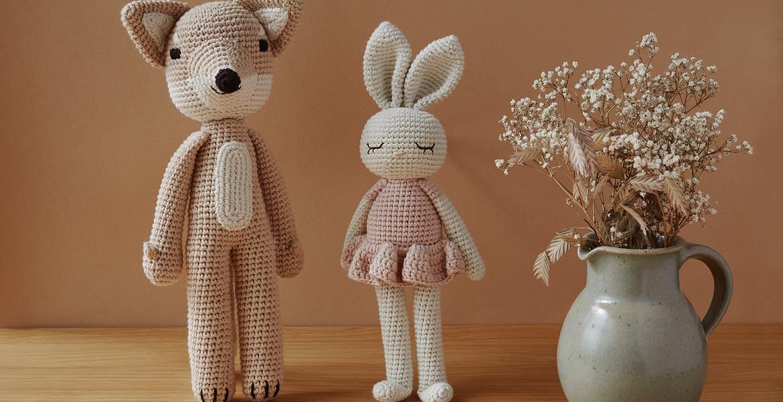 Doudous en crochet Patti Oslo