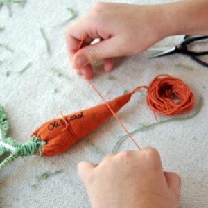 jouet DIY Cathy la carotte Oli&Carol