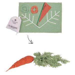 Kit de couture DIY Cathy la carotte Oli&Carol