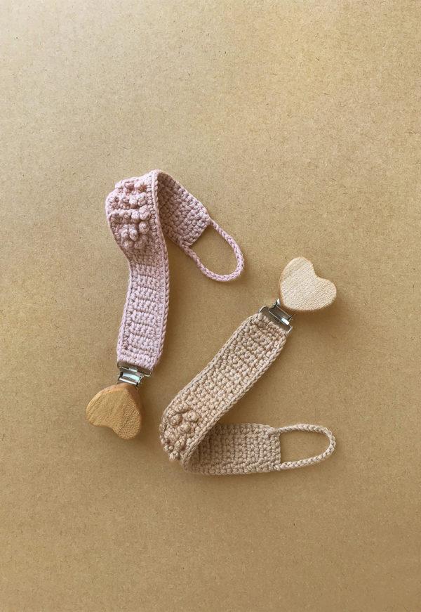 Attache-sucette en crochet Patti Oslo