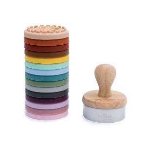 kit de tampons décoratifs en silicone we might be tiny