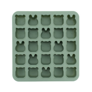 Moule en silicone animaux vert we might be tiny